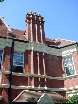 Chimneys In Victorian And Edwardian Houses Bricks Amp Brass