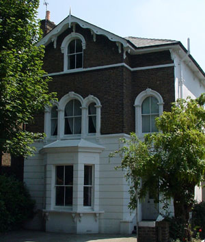 Italianate style Victorian house in Bromley, Kent