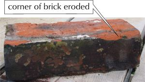 brick damage