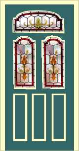 Edwardian front door design