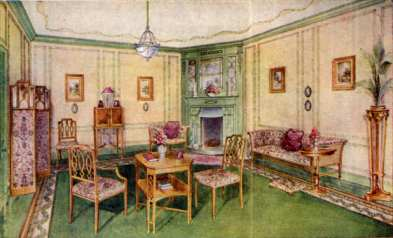example of drawing room from 1920s