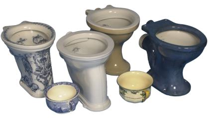 examples of Victorian and Edwardian toilets