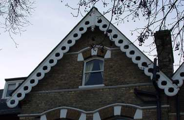 mid-Victorian gable