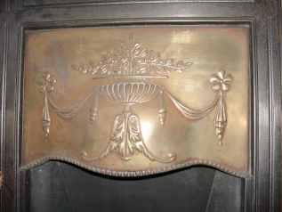 Edwardian brass hood
