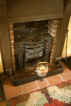 typical early 19th century hob grate