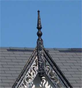 Roof Details Finials And Rainwater Fittings Bricks Amp Brass