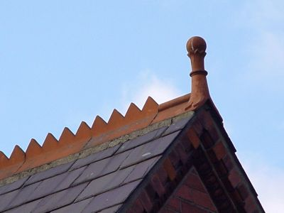 Ridge Tiles In Victorian And Edwardian Houses Bricks Amp Brass
