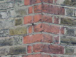 red brick quoins