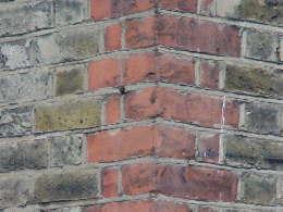 Bricks brass corner stones for Brick quoin detail