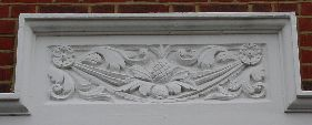 stucco panel (Edwardian, Bromley)
