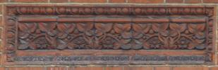 brick panel (Edwardian, Bromley)